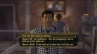 Let's Play HD Fallout New Vegas Very Hard-Hardcore Mode pt 62: Settling a Score