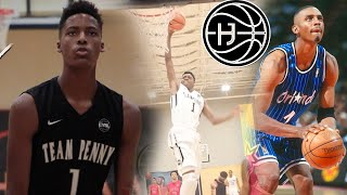 Penny Hardaway's SON Jayden Hardaway is LIGHTS OUT! OFFICIAL  EYBL Mix