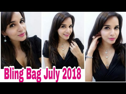 *GIVEAWAY* Bling Bag July 2018 | Classic Essentials | Code & Discount | Unboxing & Try On Review |