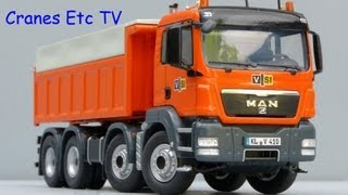 NZG MAN TGS Rear Tipper Truck