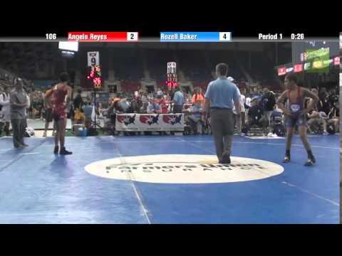 106 Angelo Reyes vs. Rozell Baker