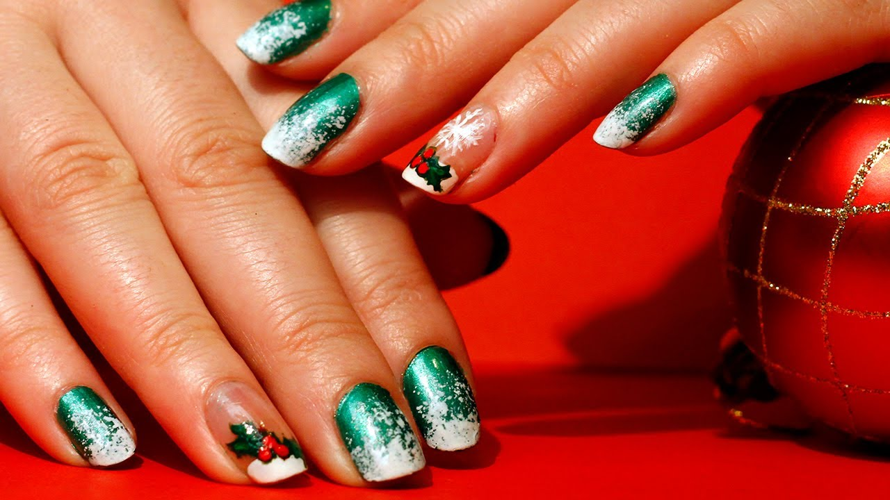 Best Nail Art Designs For Christmas Hession Hairdressing
