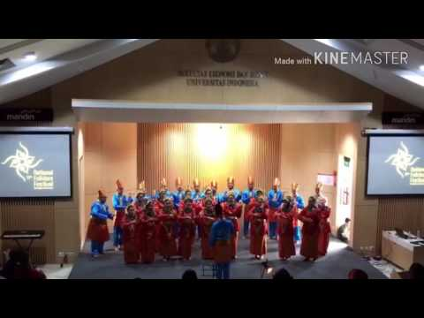 SMAN 21 Jakarta choir di NFF 2017
