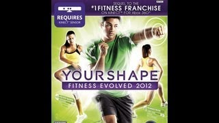 "YOUR SHAPE FITNESS 2012 FOR XBOX 360 KINECT DEMONSTRATION ""NO COPYRITE INFRINGEMENT IS INTENDED"""