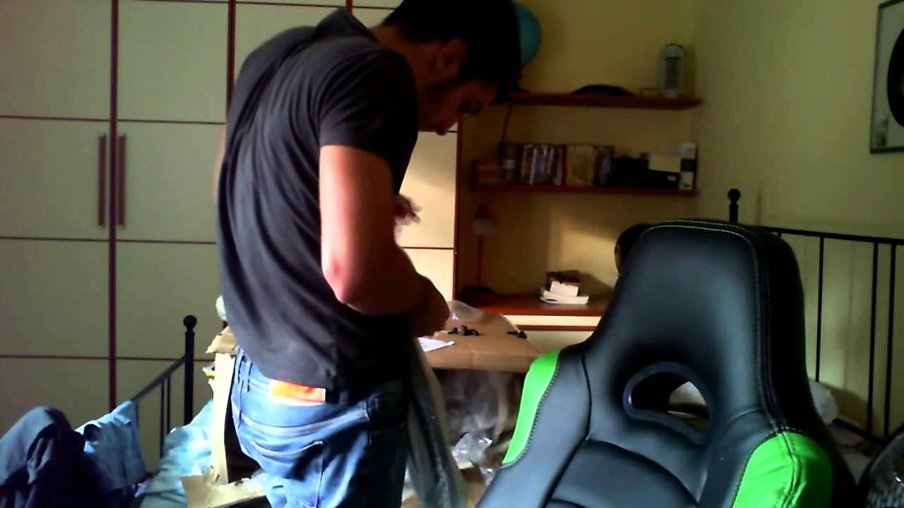 EnzoUnboxing Arozzi Montaggio E Gaming Chair kZTwuOXlPi