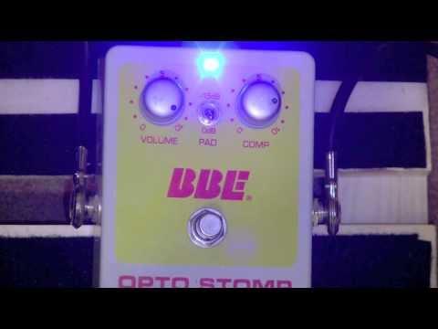 BBE Opto Stomp Compressor Pedal Demo With PRS Custom 24