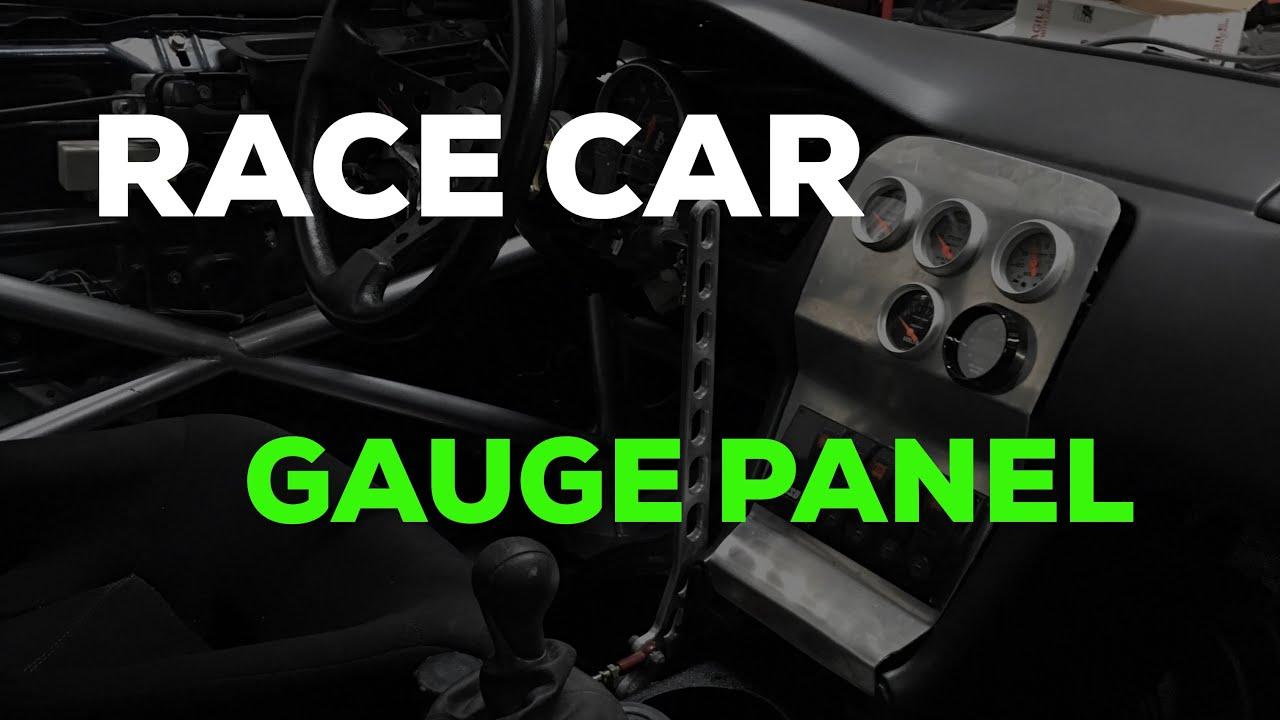 Race Car Wiring For Gauges Diagram Services Basic 2jz S14 Drift Build Custom Gauge Panel S13 Kouki Rh Youtube Com Drag Panels Switch