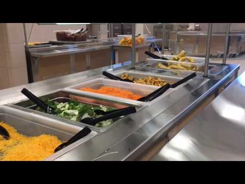 Red Lake Secondary kitchen and cafeteria grand opening