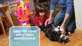 Автоматический двухуровневый туалет для кошек Smart Sit!