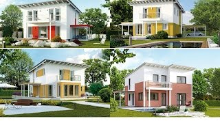Типовые проекты теплых СИП домов с односкатной кровлей в Самаре