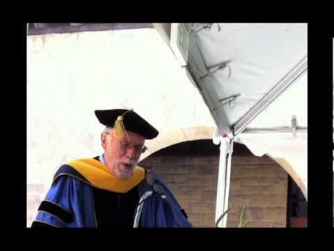 John Seely Brown calls out Howard Rheingold at Stanford Commencement