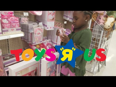 Baby Doll Shopping At Toys R Us Vlog