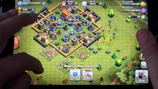 clash of clans,Fail attack 001