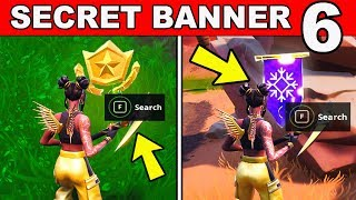 SECRET BATTLE STAR WEEK 6 SEASON 8 LOCATION Loading Screen Fortnite - WEEK 6 SECRET BANNER REPLACED