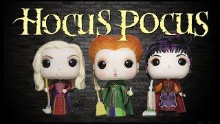 The Sanderson Sisters Funko Pop Collection Review - Hocus Pocus Set!