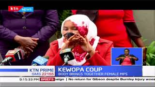 KEWOPA Coup: Women MPs eject Ngirici as Kewopa chair, replace her with Wamuchomba