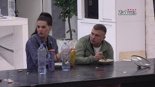 Zadruga 4 - Misica i Karić šokirani Tarinim stajlingom - 14.04.2021.
