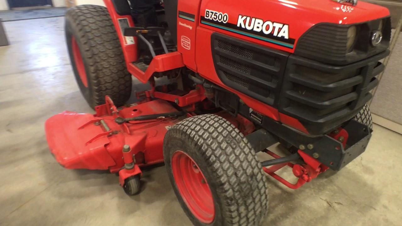Kubota B7500 Specs Wiring Diagram Lot Garden Tractor Youtube 1280x720