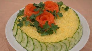 Салат Белая ночь(Приготовьте на праздник очень вкусный салат под названием «Белая ночь» Такой салатик будет отлично смотре..., 2015-03-30T11:12:19.000Z)