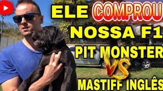 ELE COMPROU NOSSA F1 PIT MONSTER VS MASTIFF INGLÊS