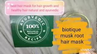 boutique Hair musk root mask for hair growth and healthy nourishing growth smooth dense bestmask