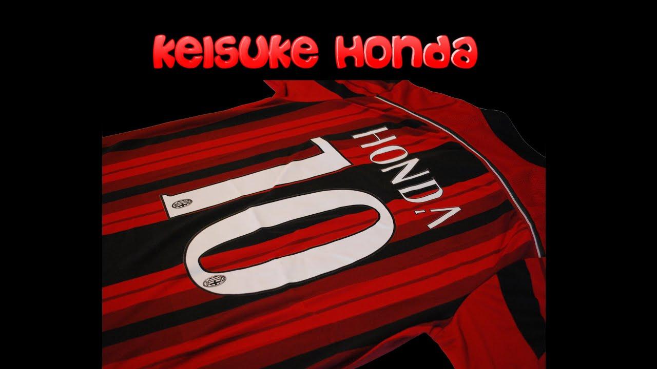 AC Milan Home 14/15 kit Keisuke Honda - YouTube