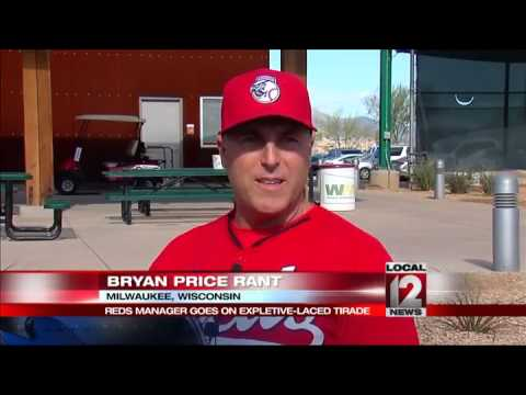 Reds Manager Bryan Price launches profanity-laced rant at media