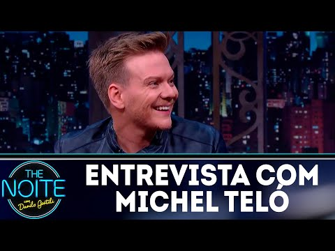 Entrevista com Michel Teló   The Noite (25/04/8)