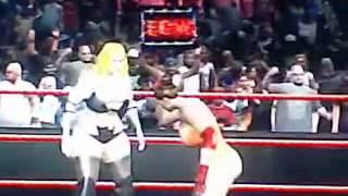 sexy wrestling champion Excella resident evil 5 vs Matsumoto bleach