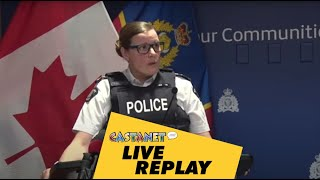 Live replay: RCMP react to SAFE SPACE criticism