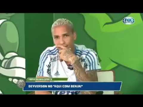 498efd8fe Deyverson imitando Felipão - YouTube