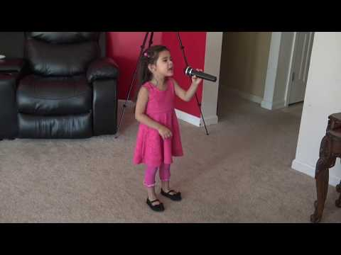 SHE IS ON FIRE (3 Year old little girl playing) by Myfunnylife TV