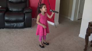 SHE IS ON FIRE (3 Year old little girl playing) by Sam