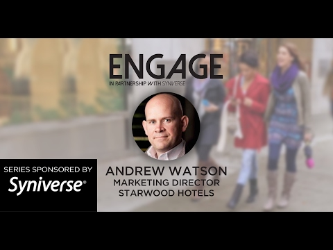 Starwood Hotels' Director of Marketing on his customer-centric marketing approach