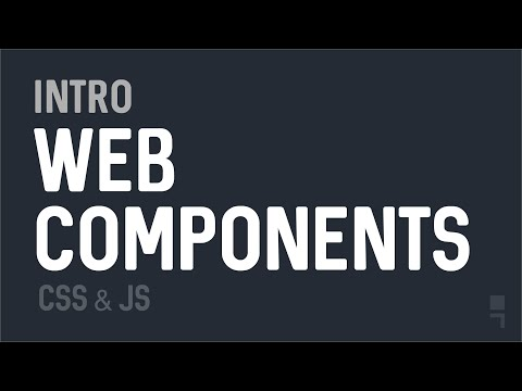 Intro to Web Components - Full Walkthrough