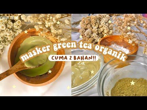DIY green tea latte organic mask! - YouTube