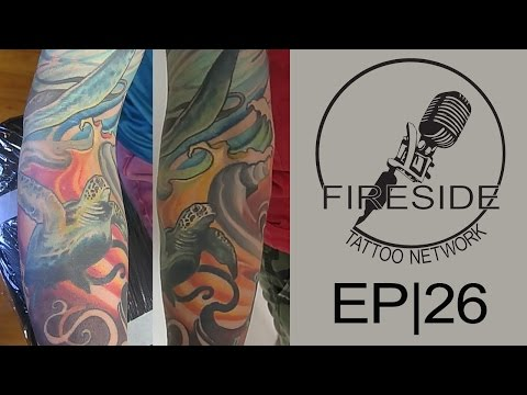 Covering Dark Ink with Light | Fireside Technique | EP 26