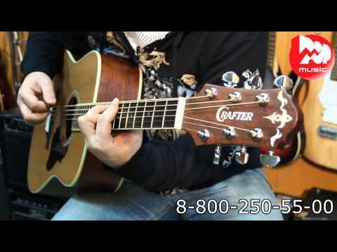 Акустическая гитара CRAFTER D7