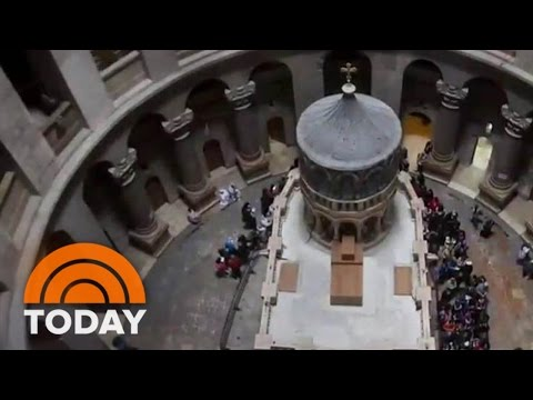 Tomb Of Jesus Reopens In Jerusalem After Multimillion-Dollar Renovation | TODAY