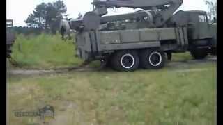 Битва грузовиков Урал 4320 vs КрАЗ 255