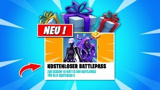 *NOW!* GET SEASON 10 BATTLEPASS FREE in Fortnite! ⭐😱