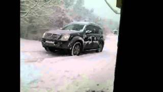 Давление в шинах по снегу 2.5 против 0.5