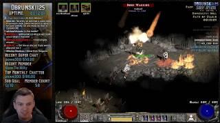 Diablo 2 - POD Fire Druid - First Tier Map experience!! 03/15/2019