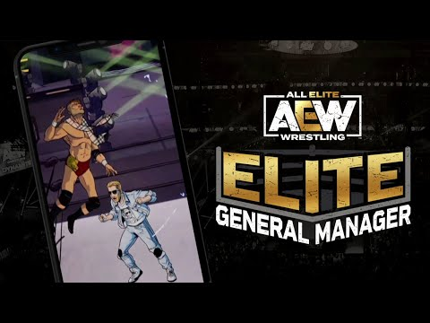 Teaser Trailer | Upcoming game AEW Elite General Manager