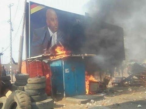 RDC/ Kasumbalesa: Affrontements entre la population et la police .