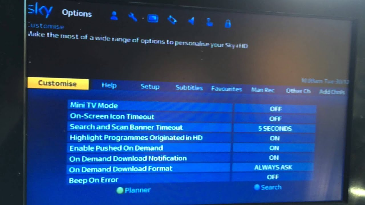 how to watch sky go on tv