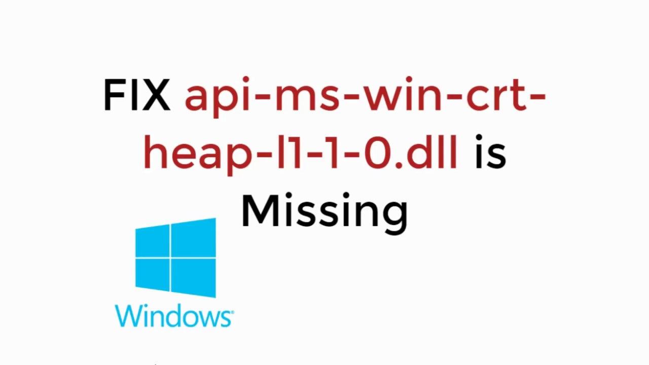API-MS-WIN-CRT-RUNTIME-L1-1-0.DLL GRATUITEMENT TÉLÉCHARGER