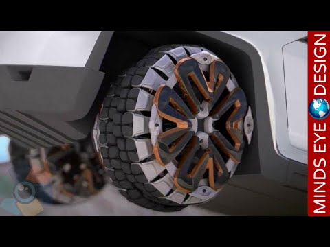 5 Incredible Tire Design Innovation & The Evolution of Tires #2