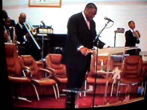 MY CHURCH FAMILY: The Living Gospel (in L. A.) Me on the organ