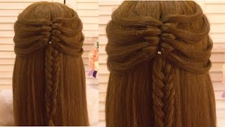 Простая и Красивая Прическа в школу  Amazing Hairstyle Tutorial Compilation 2017